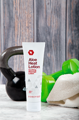 Månedens produkt september 2018 - Aloe Heat Lotion